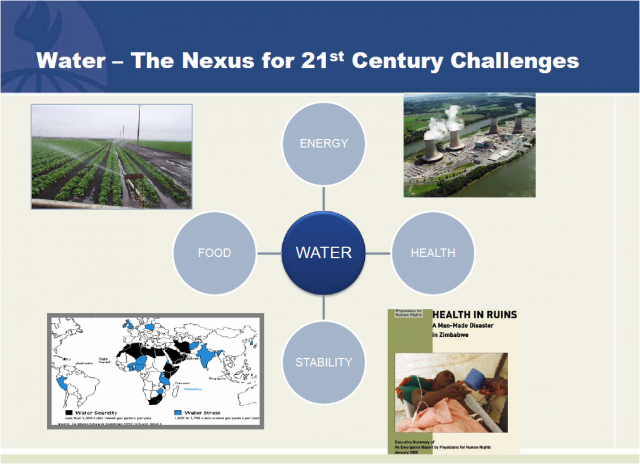 Water - the Nexus for 21st Century Challenges